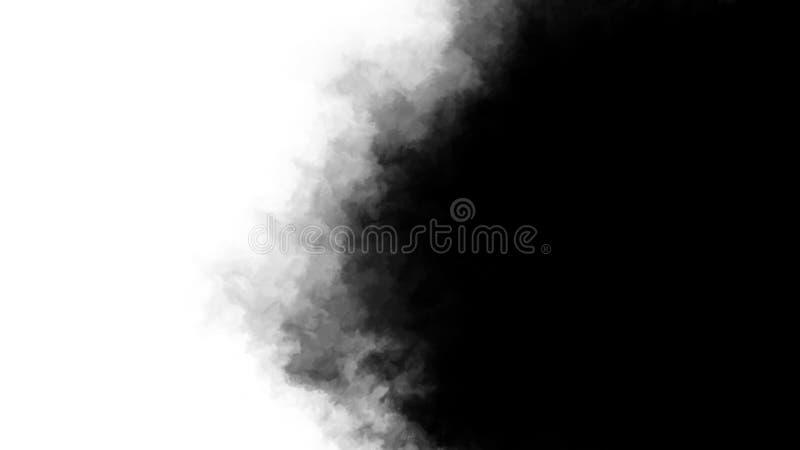Inkt transitie splatter bloeit rechts naar links turbulent bewegend abstract tekenanimatie achtergrond nieuwe coole royalty-vrije stock foto's