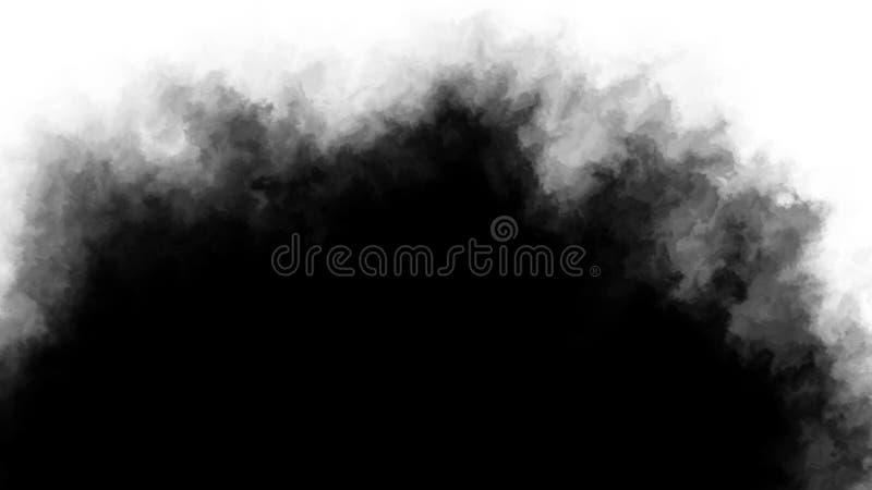 Inkt transitie splatter verspreidt zich naar beneden naar top turbulente bewegende abstracte tekenanimatie achtergrond nieuwe coo stock fotografie