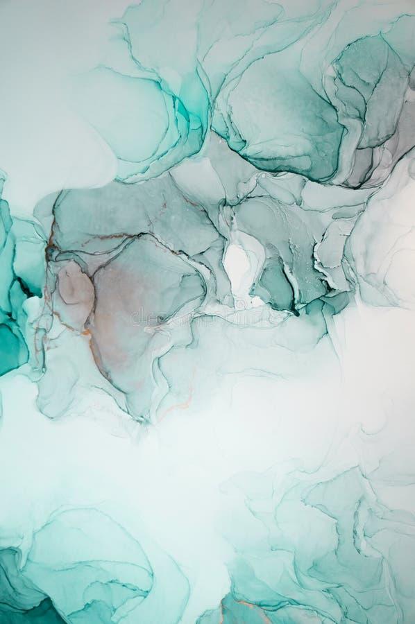 Inkt, verf, samenvatting Kleurrijke abstracte het schilderen achtergrond Hoogst-geweven olieverf Hoog - kwaliteit detaInk, verf,  royalty-vrije stock foto