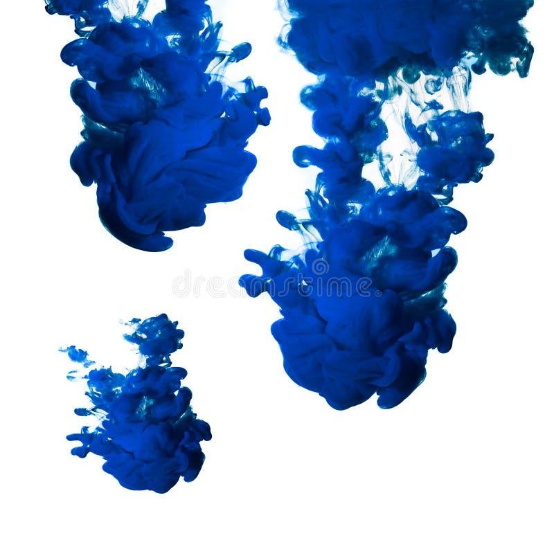 Inkt in Water stock afbeeldingen