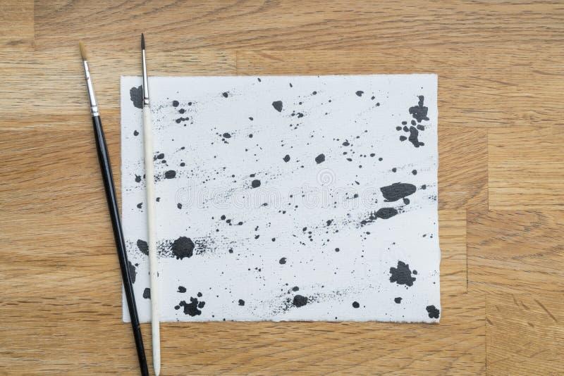 Inktvlekken stock afbeelding