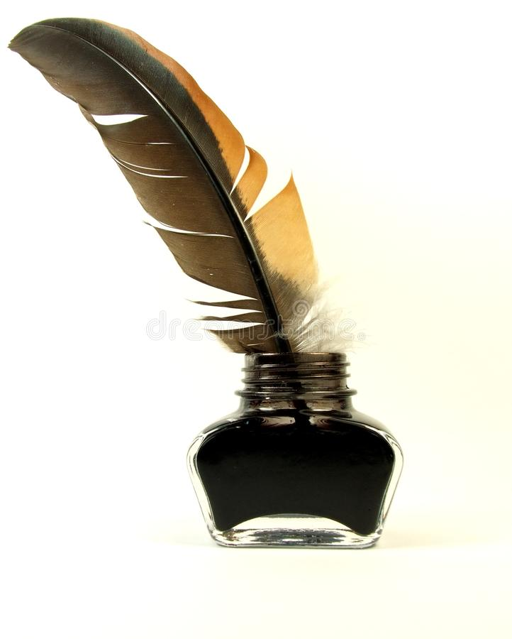 Inkwell and quill stock photo. Image of plume, school ...Quill And Inkwell Image