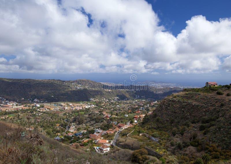 Inlad Gran Canaria, aprile fotografia stock