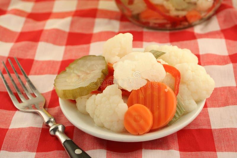 inlagda grönsaker arkivbilder