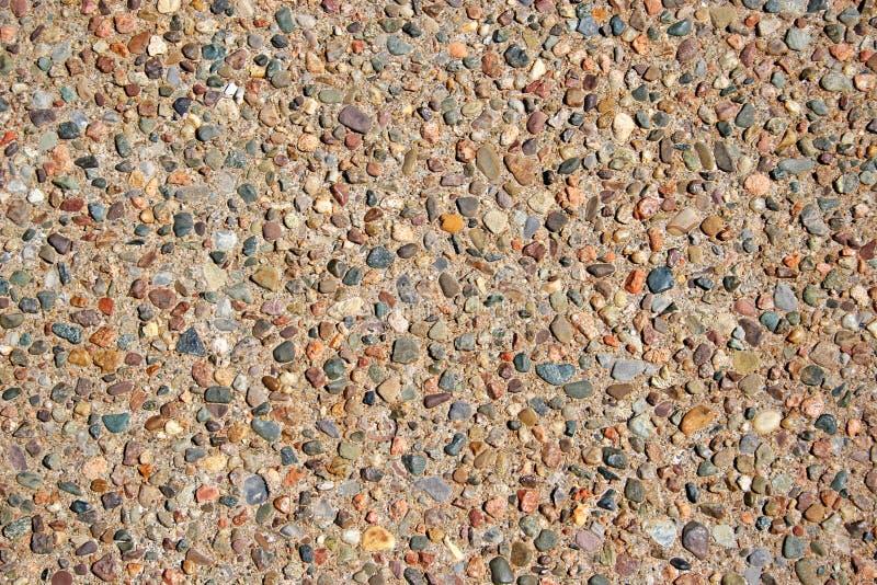 inlagda pebbles arkivfoto