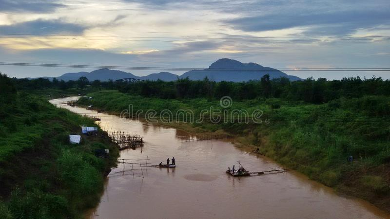 Download Inland Fisheries In Thailand Stock Photo - Image: 43351356