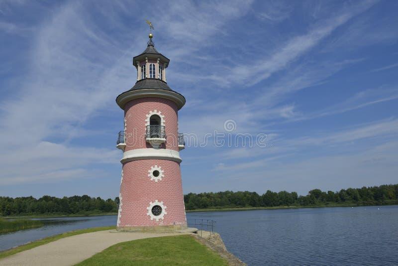 Inland lighthouse stock photos