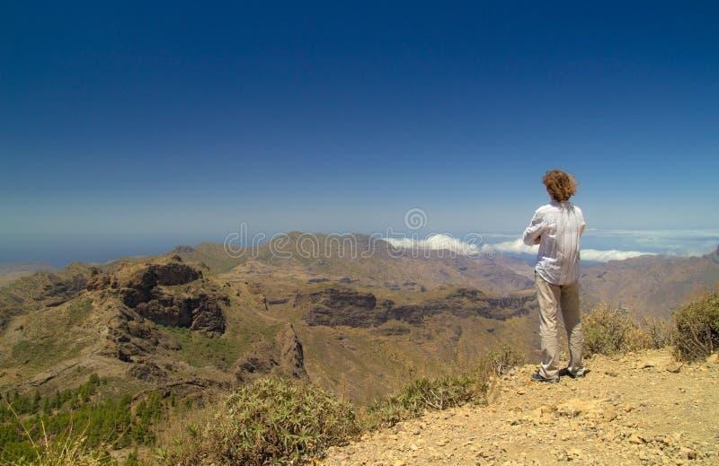 Inlands- Gran Canaria royaltyfri foto