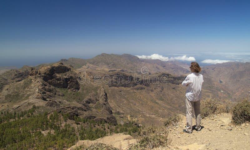 Inlands- Gran Canaria royaltyfria bilder