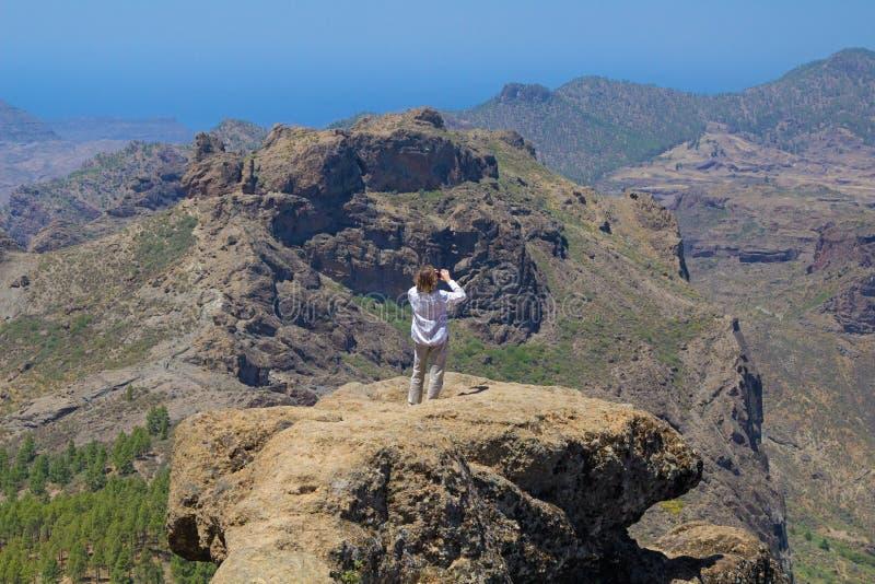 Inlands- Gran Canaria arkivbilder