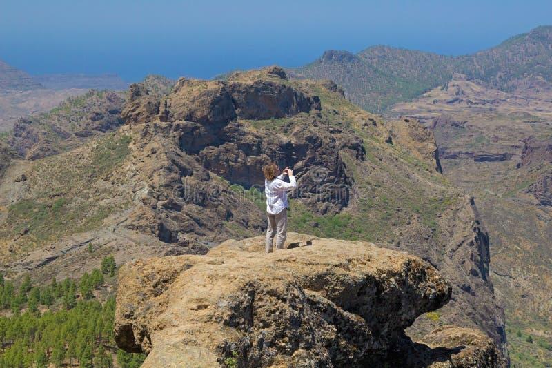 Inlands- Gran Canaria fotografering för bildbyråer