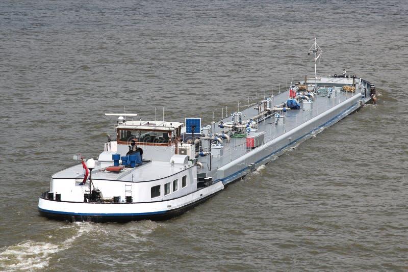 Inlands- tankfartygskyttel royaltyfria bilder