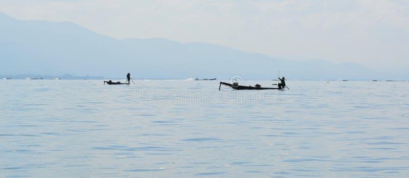 Inle lake stock image