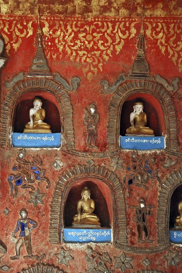 inle pyay shwe της Myanmar μοναστηριών λιμνών ya στοκ εικόνες