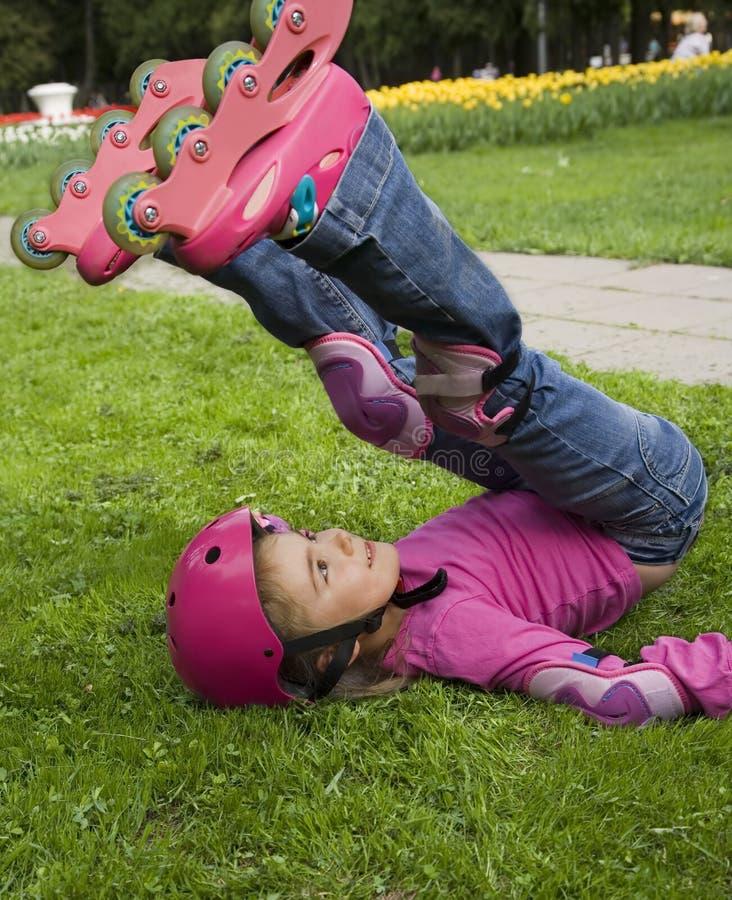 Inline skate stock image