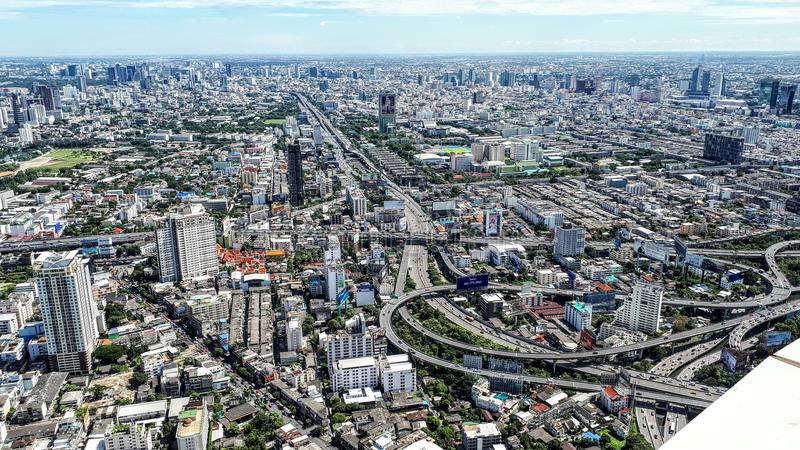 Inmensity de Bangkok image stock