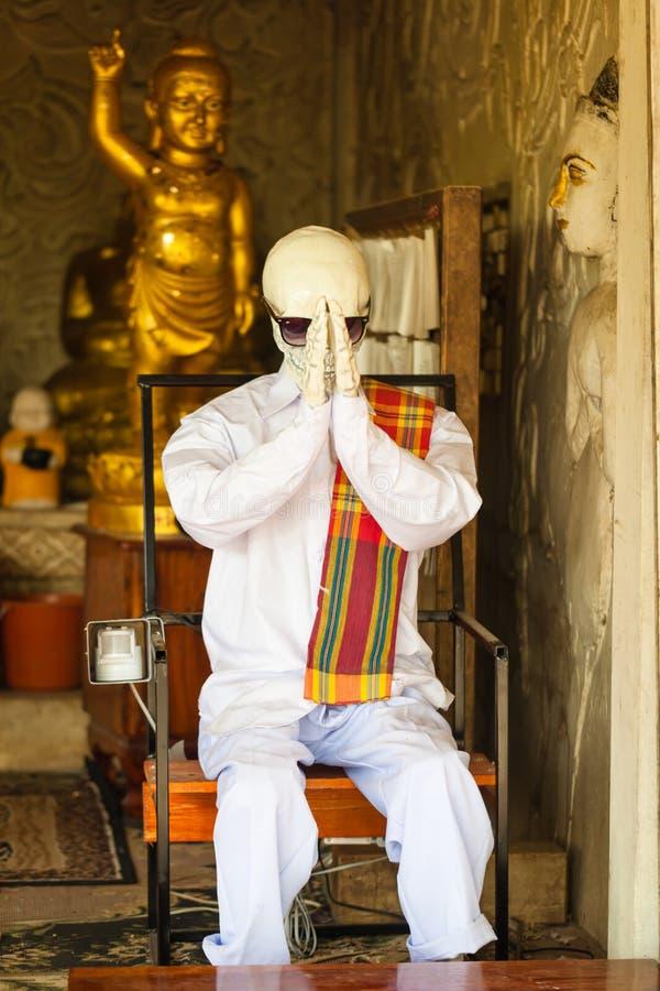 Inmortalidad del símbolo en la religión asiática del budismo fotos de archivo