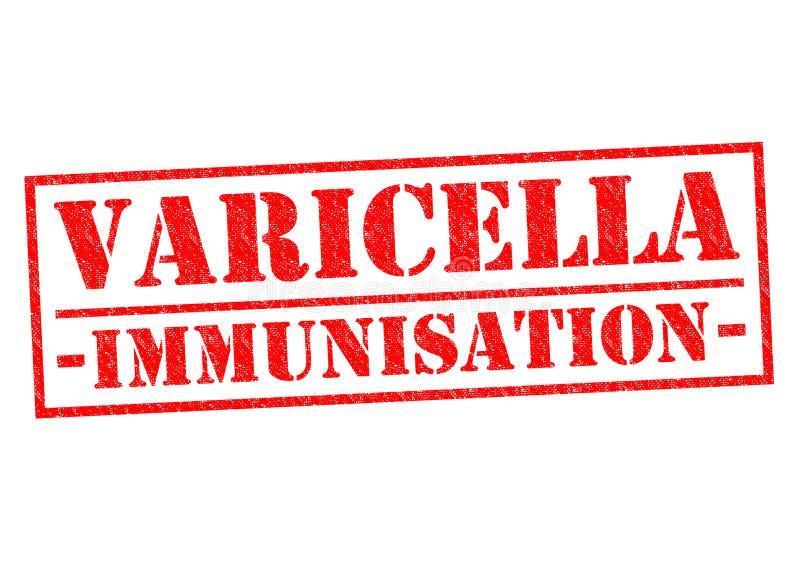 Inmunización de la varicela ilustración del vector
