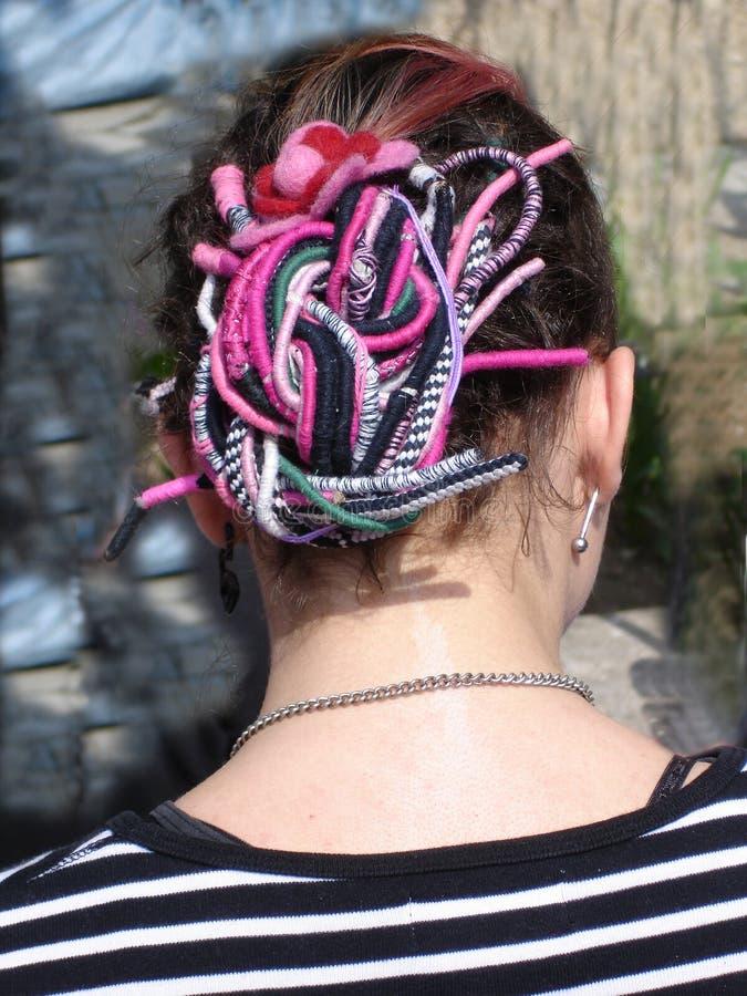 inną fryzurę zdjęcia royalty free