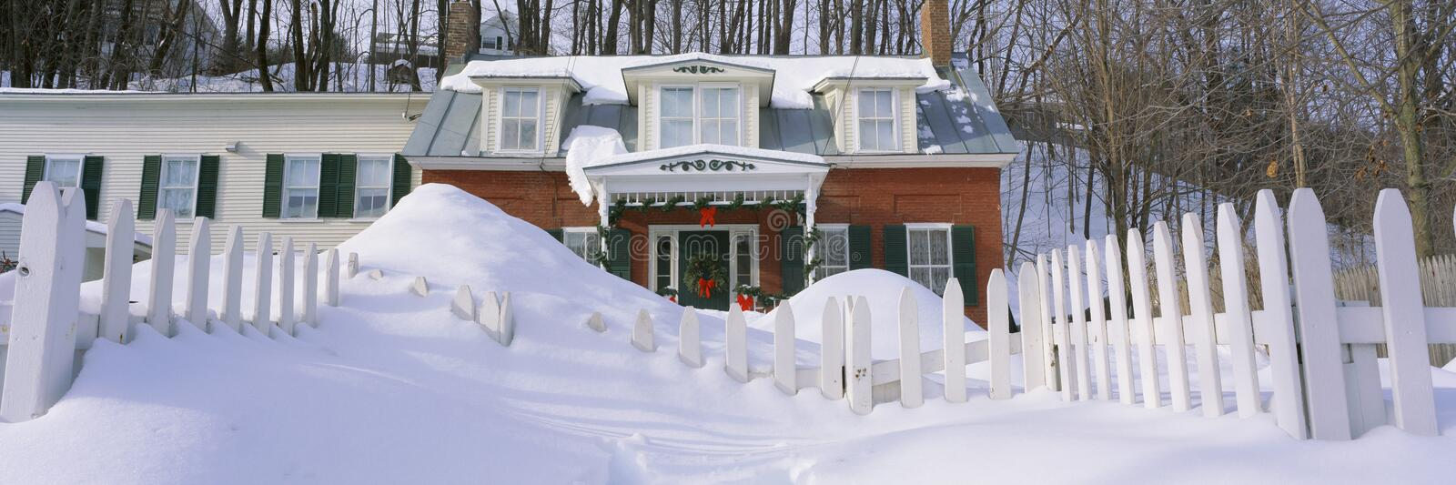 Download Inn at wintertime stock photo. Image of vermont, christmas - 23162378