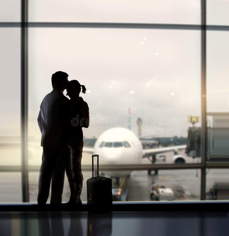 Innamorati in aeroporto