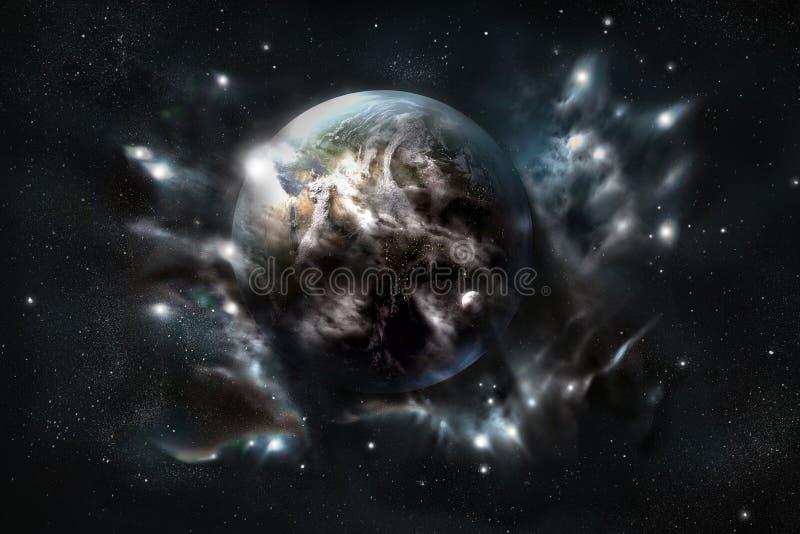 inne ziemi. royalty ilustracja