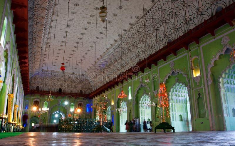 Innen von Bara Imambara in Lucknow stockbilder
