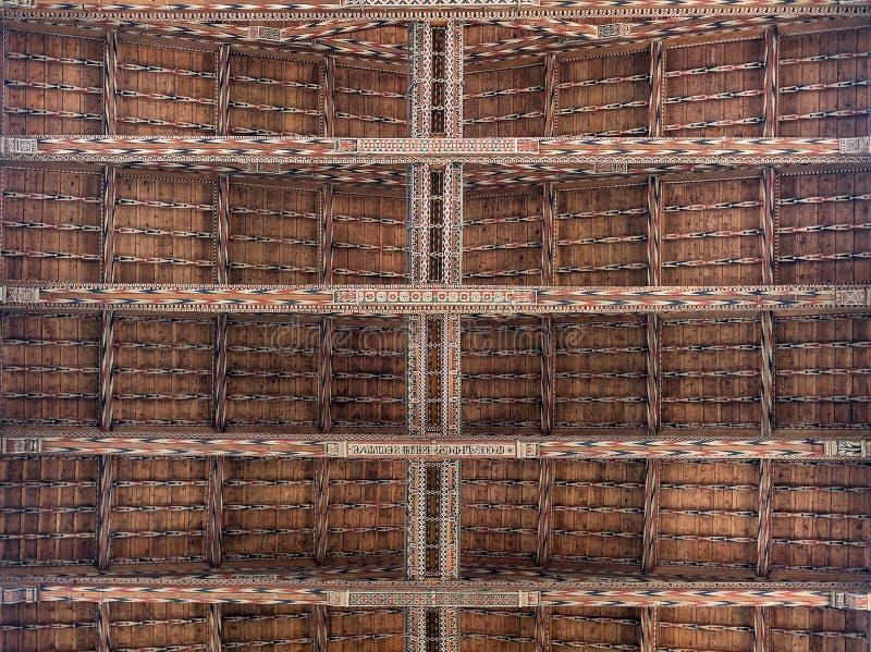 Innenansicht von Basilika-De Sante Croce lizenzfreie stockbilder