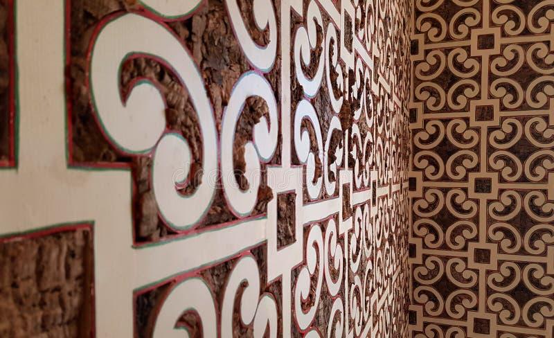 Innenarchitektur innerhalb eines kleinen portugiesischen Häuschens lizenzfreie stockbilder