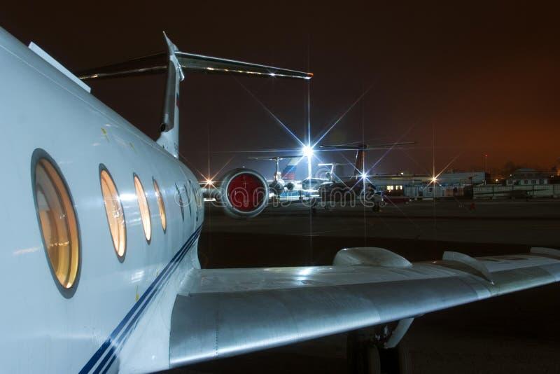 Innenflugzeug-Repräsentativbewertung. stockfotografie