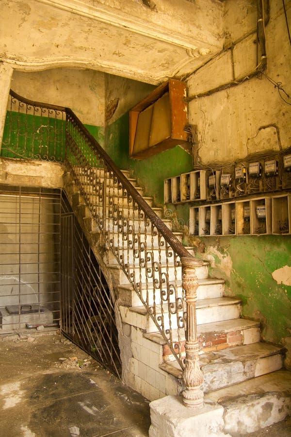 Innengebäude, Kuba lizenzfreie stockfotografie