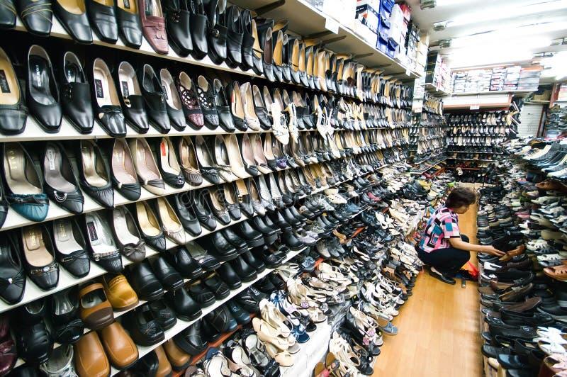 Innenmarkt von Iksan, Südkorea lizenzfreie stockfotos