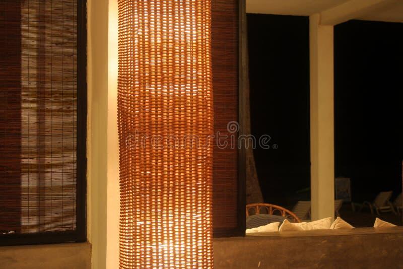 Innenraum auf einem Hotel lizenzfreies stockbild
