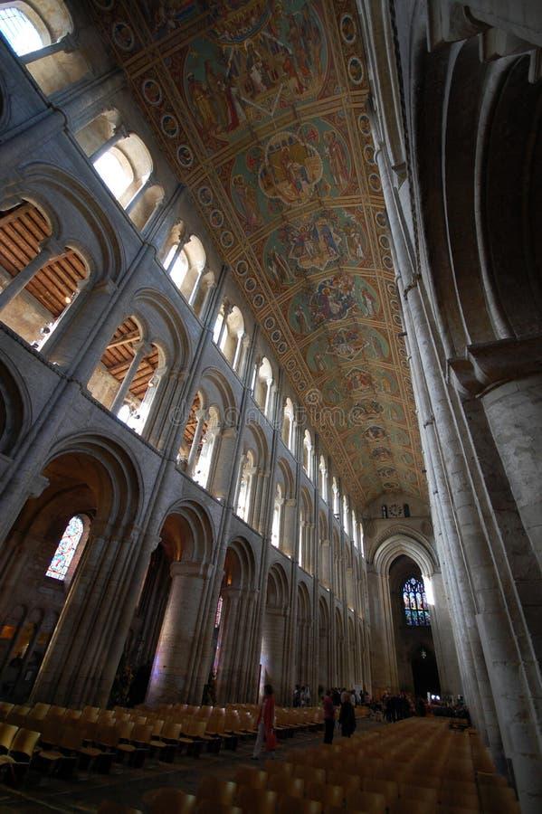 Innenraum der Ely Kathedrale lizenzfreie stockfotos