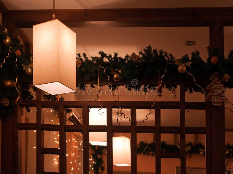 Innenraum der japanischen Gaststätte stockbilder
