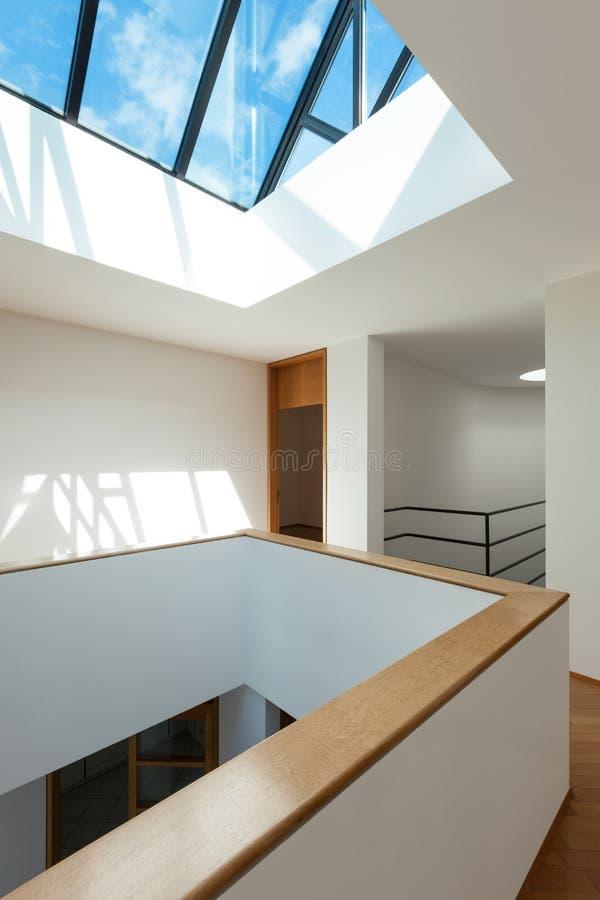 Innenraum der leeren Wohnung stockfoto