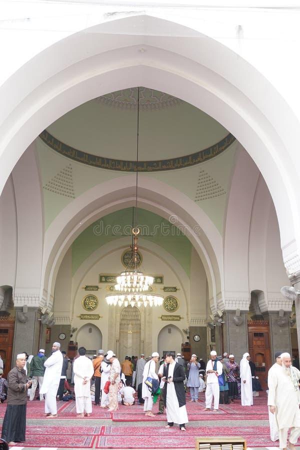 Innenraum der Moschee von quba lizenzfreies stockbild