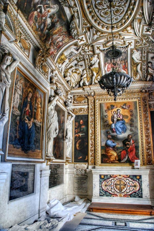 Innenraum des Capitoline Museums, Rom lizenzfreies stockfoto