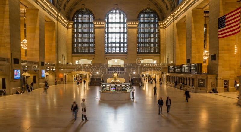 Innenraum des Grand Central Station in New York lizenzfreies stockfoto