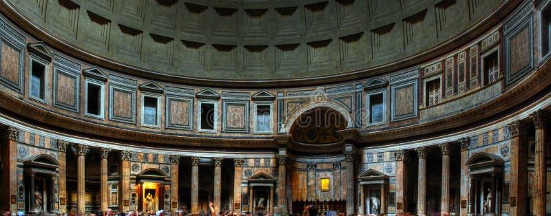 Innenraum des Pantheons (Rom) lizenzfreie stockfotografie