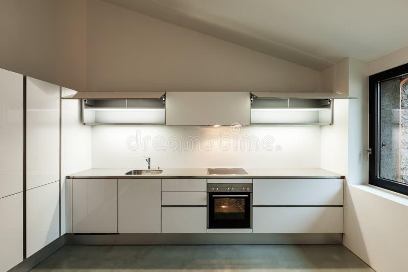 Innenhaus, Küche lizenzfreie stockfotografie
