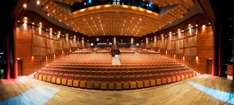 Innenraum des Theaters stockfotografie