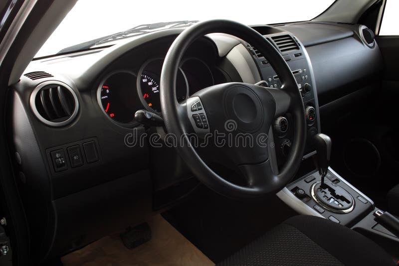 Innenraum eines Autos stockbild