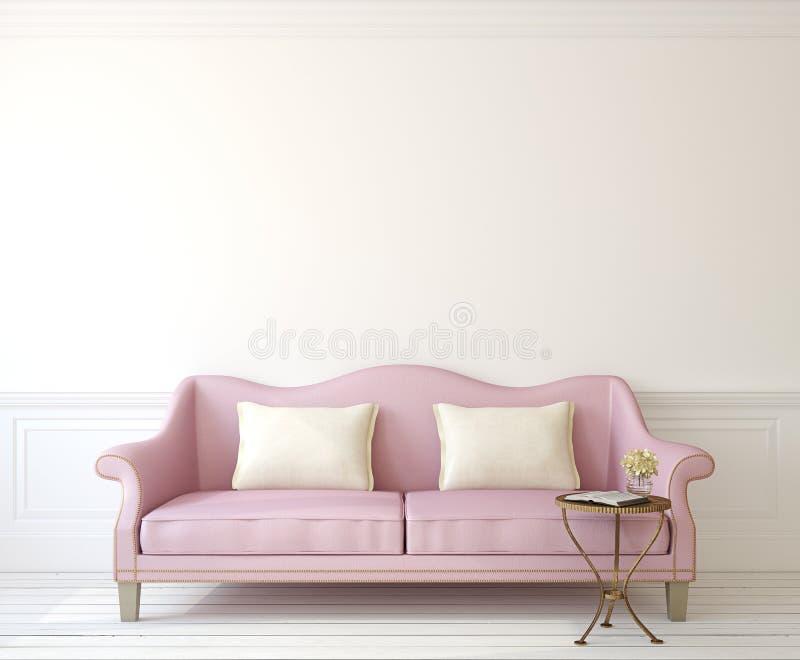 Innenraum mit Couch vektor abbildung