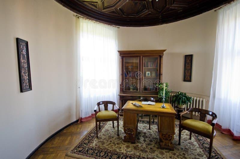 Innenraum von Ksiaz-Schloss, Polen lizenzfreie stockfotografie