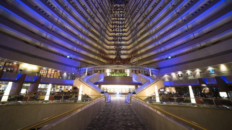 Innenraum von Marina Mandarin Hotel lizenzfreie stockfotos