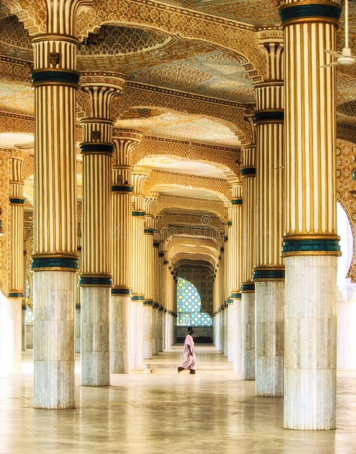 Innenraum von Touba-Moschee, Mitte Mouridism, Senegal stockbilder