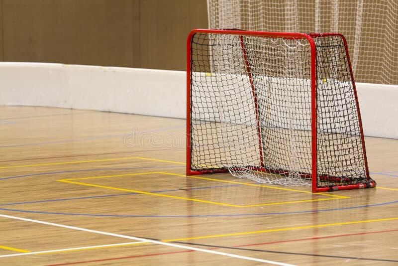 Innentor Floorball stockbild