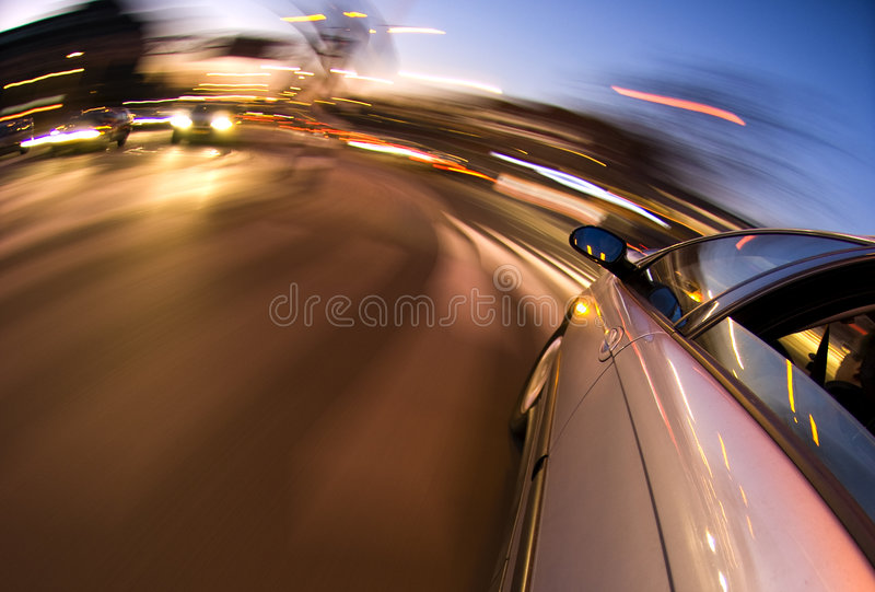 Download Inner City Driving stock photo. Image of lights, mirror - 4426442