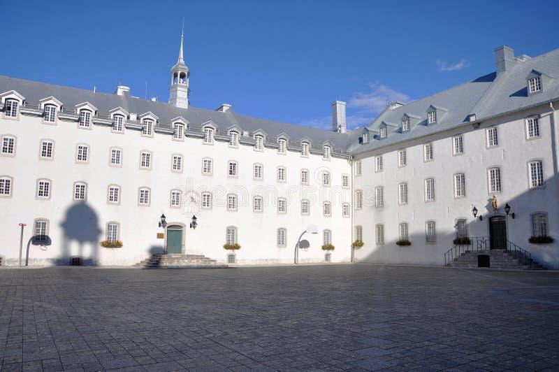Seminaire de Quebec, Quebec City royalty free stock photos